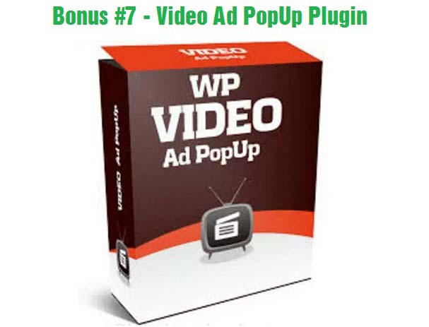 Video Ad Popup Plugin
