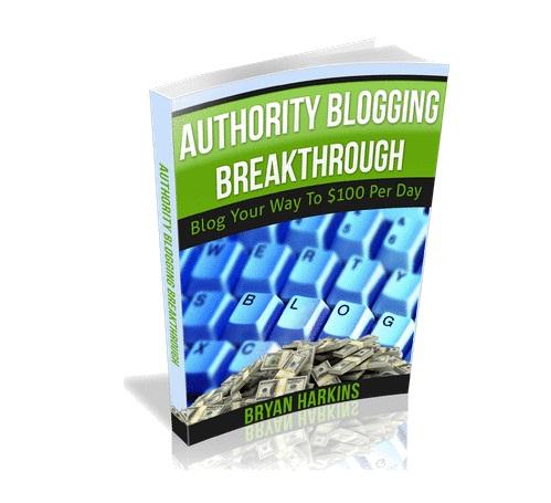 Authority Blogging Breakthrough