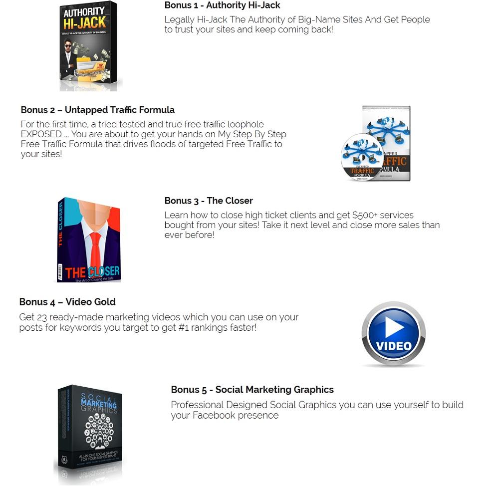 Bonus for Keyword Studio Pro Review