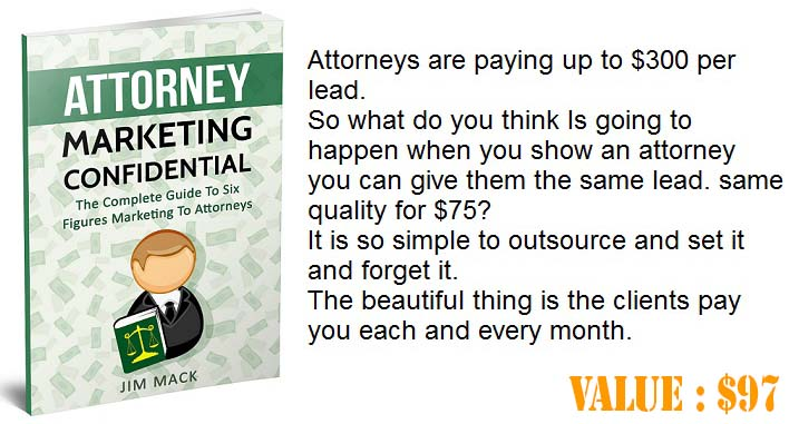 Attorney Marketing Confidential