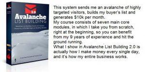 Avalanche List Building