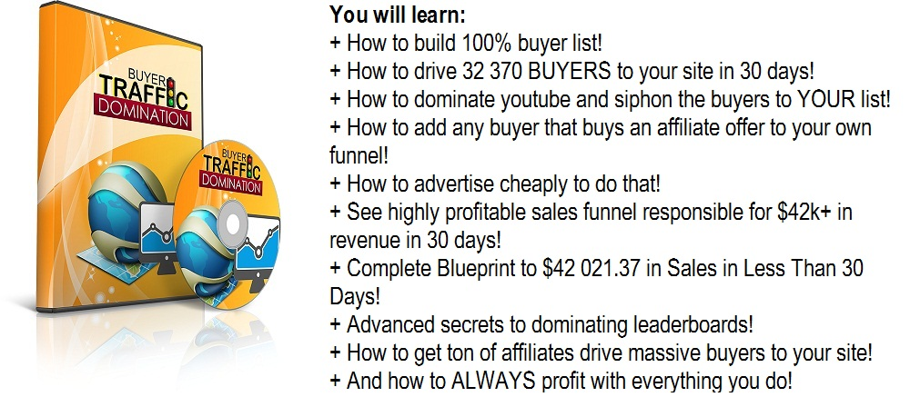 Buyer Traffic Domination