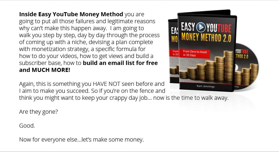 Easy Youtube Money Method 2