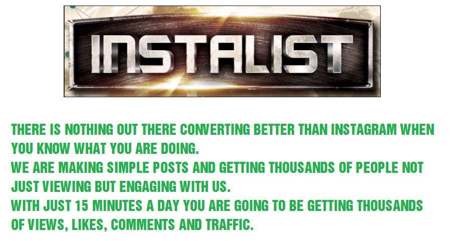 Instalist