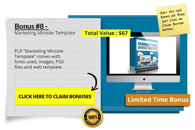 Marketing Minisite Temp