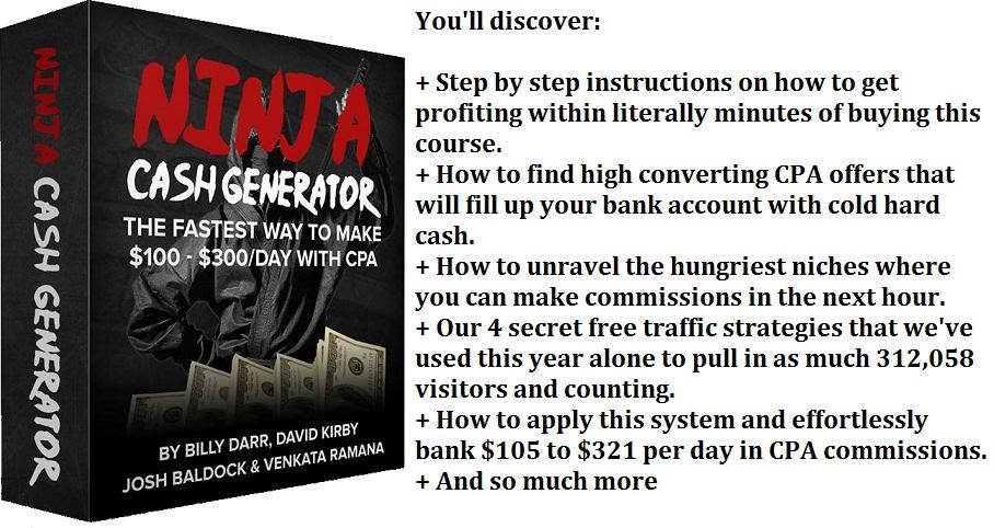 Ninja Cash Generator