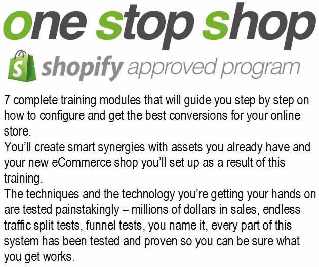 Shopify One Stop Shop