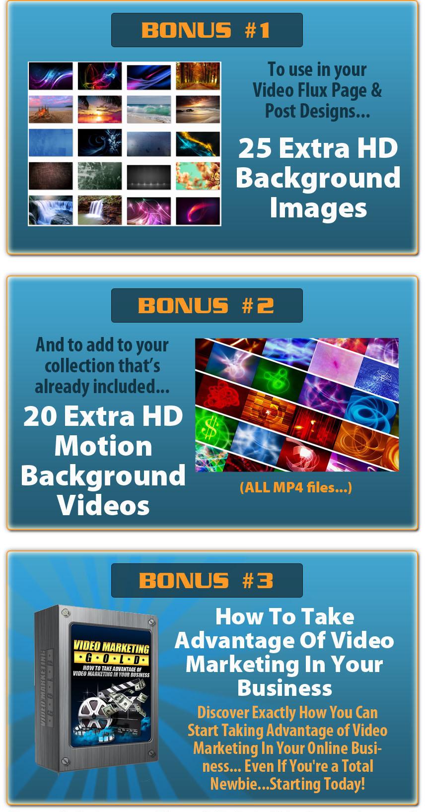 WP Video Flux Bonus