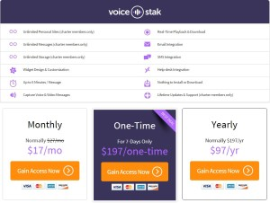 Features of VoiceStakk Review