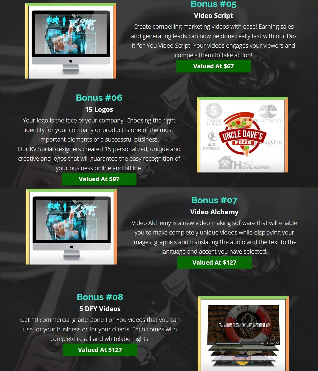 Special Bonus for Video Contest