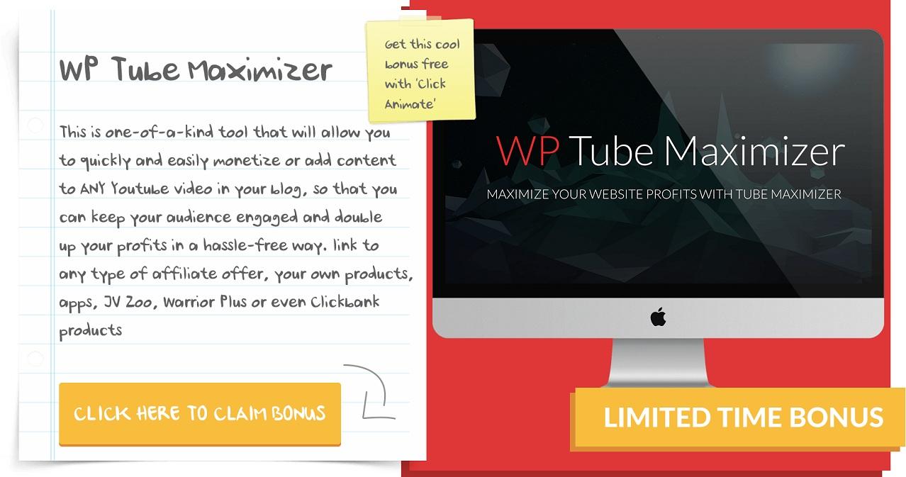 Wp-Tube-Maximizer for ClickAniamte Review