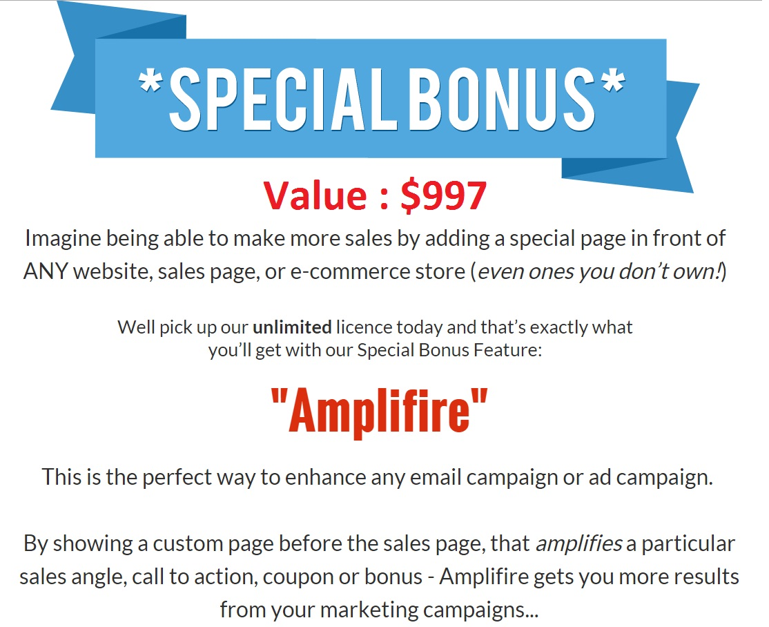 Captifire Bonus