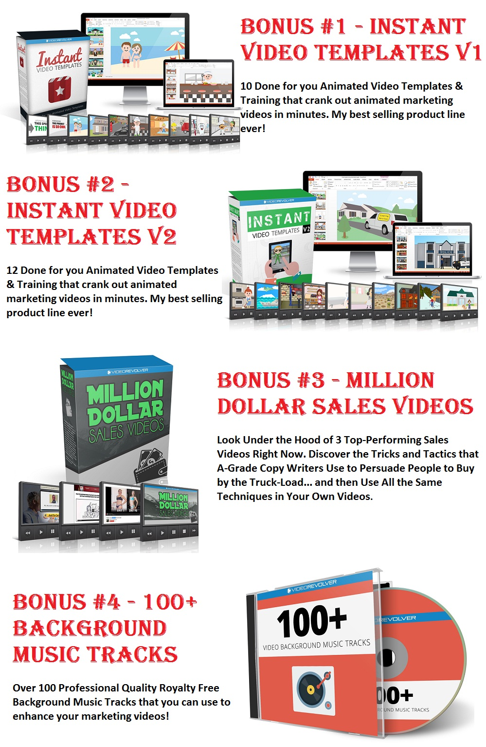 Video Bookmarker Bonus