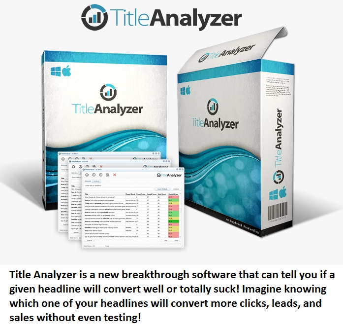 title analyzer bonus