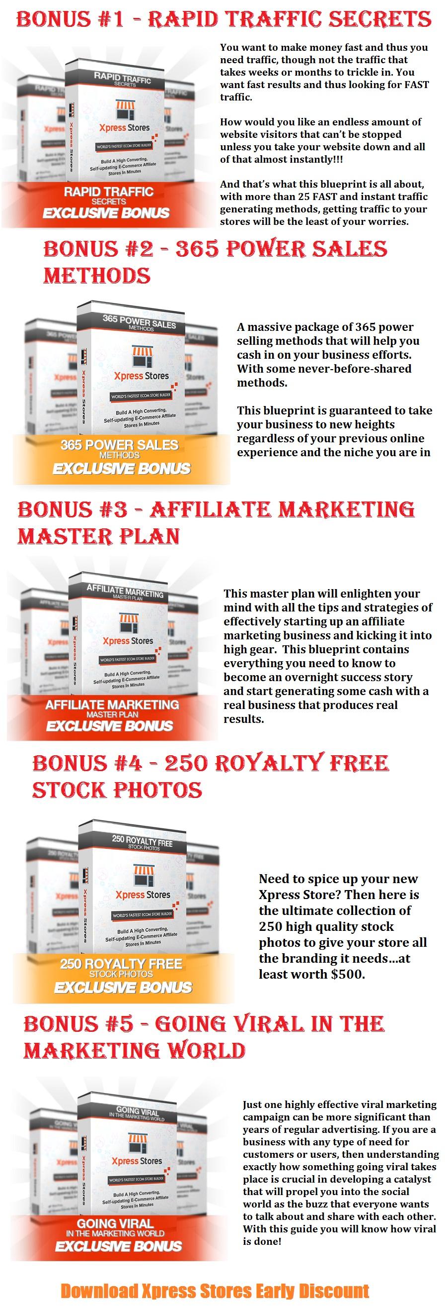 Xpress Stores Bonus