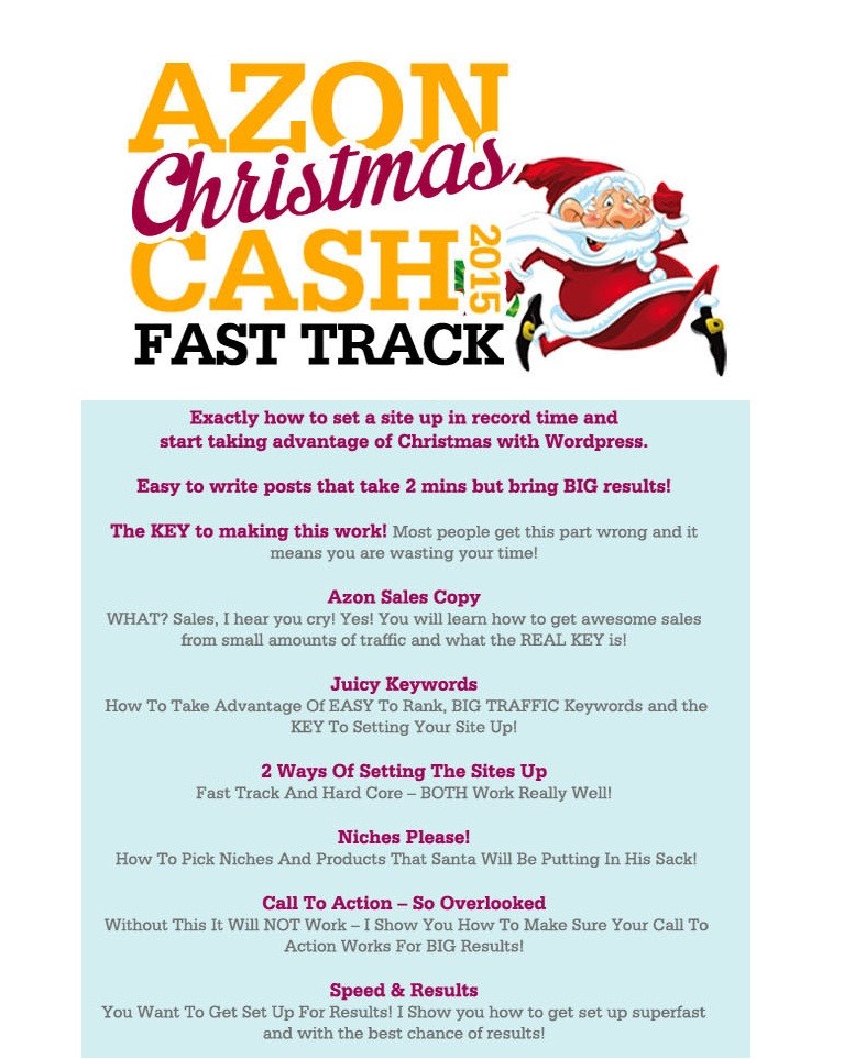 Azon Christmas Cash 2015