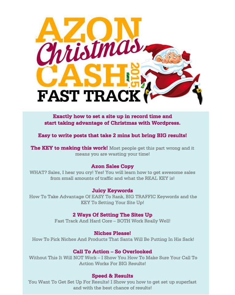 Azon Christmas Cash 2015