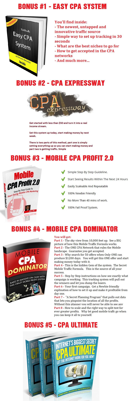 CPA Evolution 2.0 Bonus