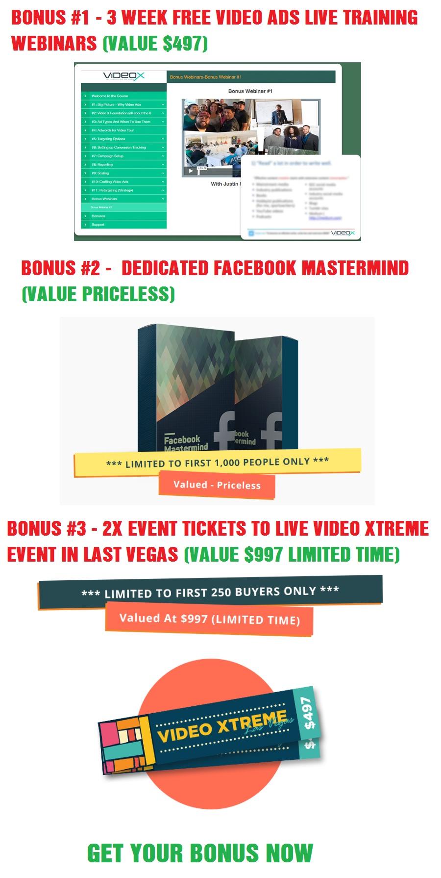 VideoXtreme Bonus