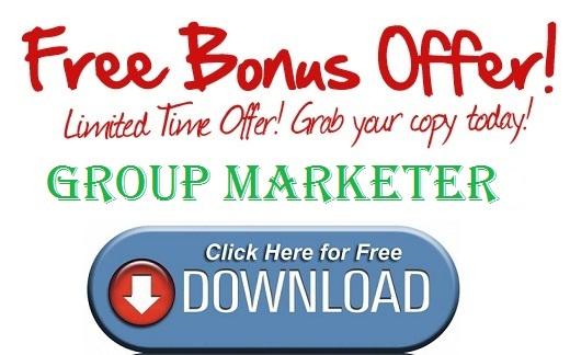 Group Marketer Bonus