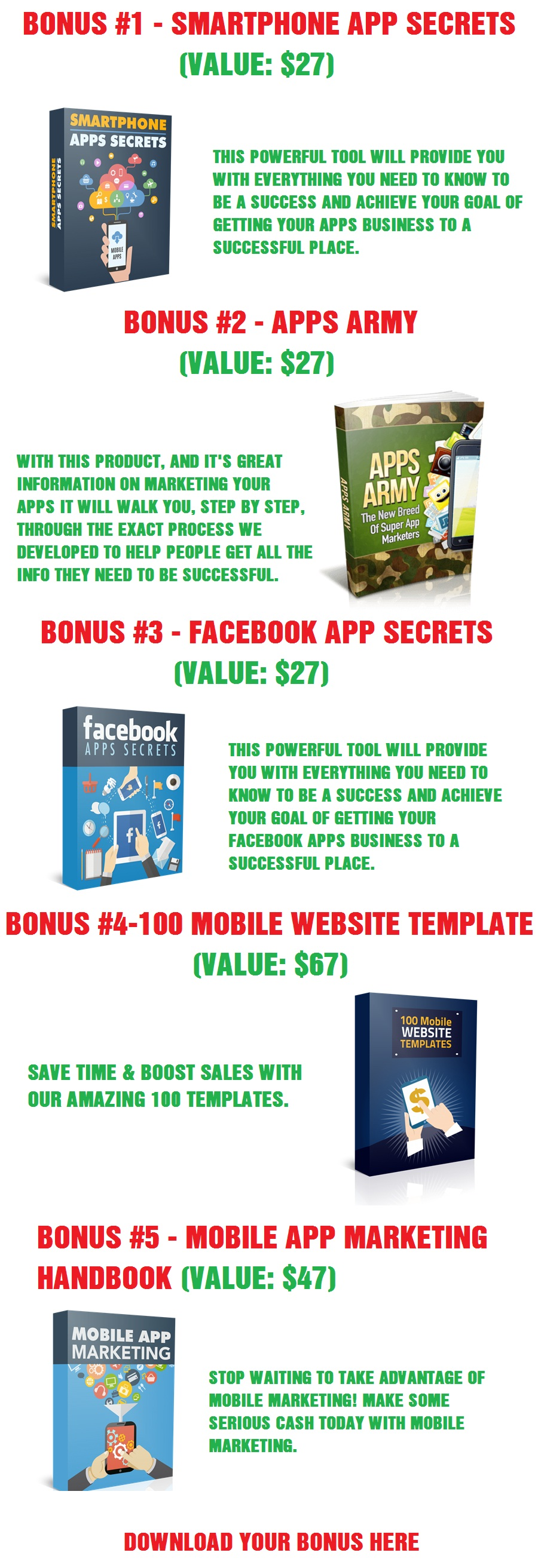 AllAppPress 2.0 Bonus