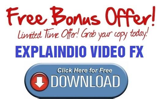 Explaindio Video FX Bonus