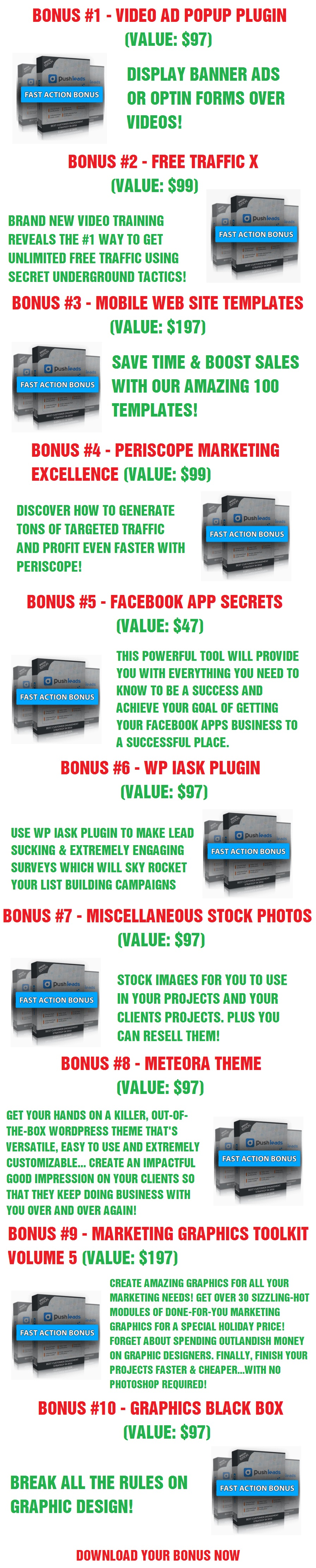 Push Leads Bonus