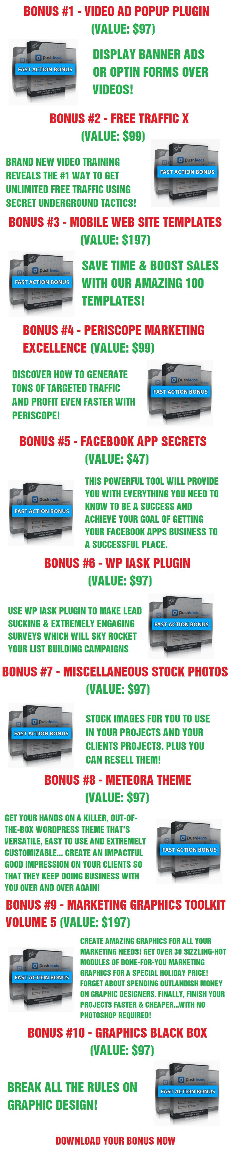 Push Leads Bonus