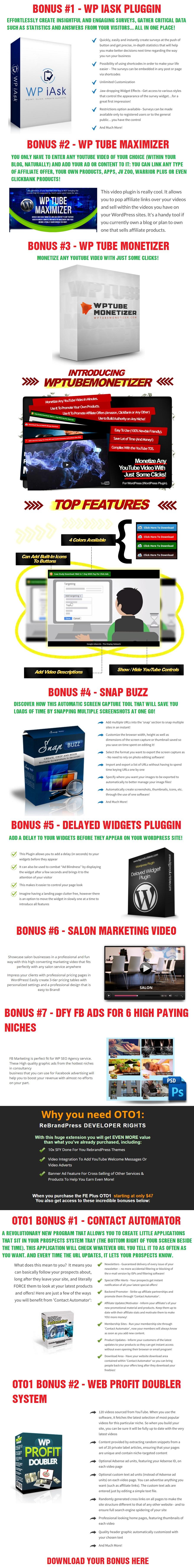 RebrandPress Bonus