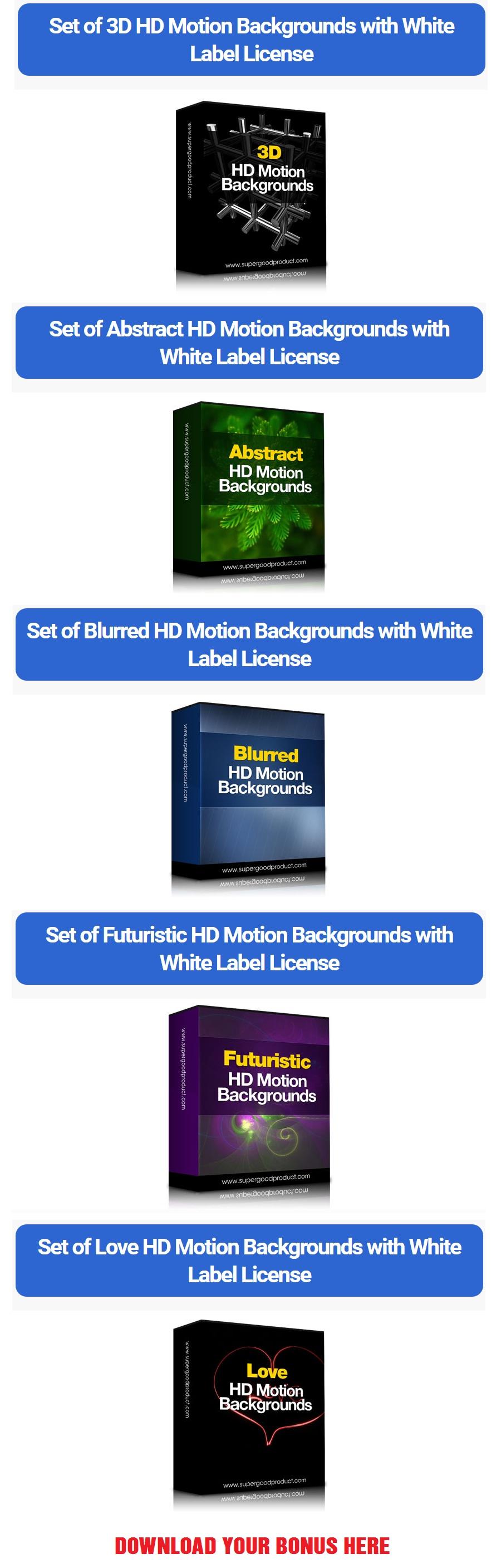 Ultimate Transparent Stock Photos Bonuses