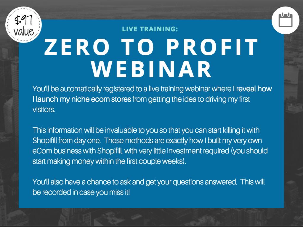 shopifill-bonus-zero-to-profit