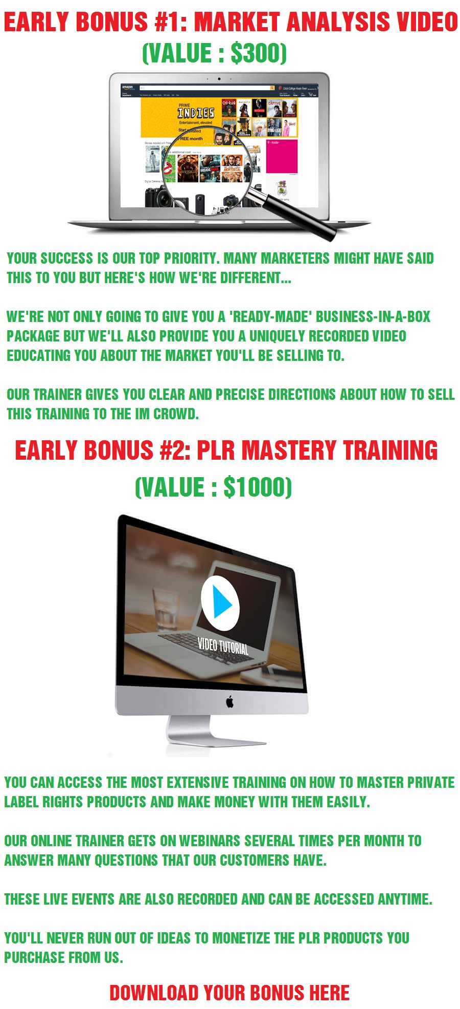 FBA Profit Mastery Bonus