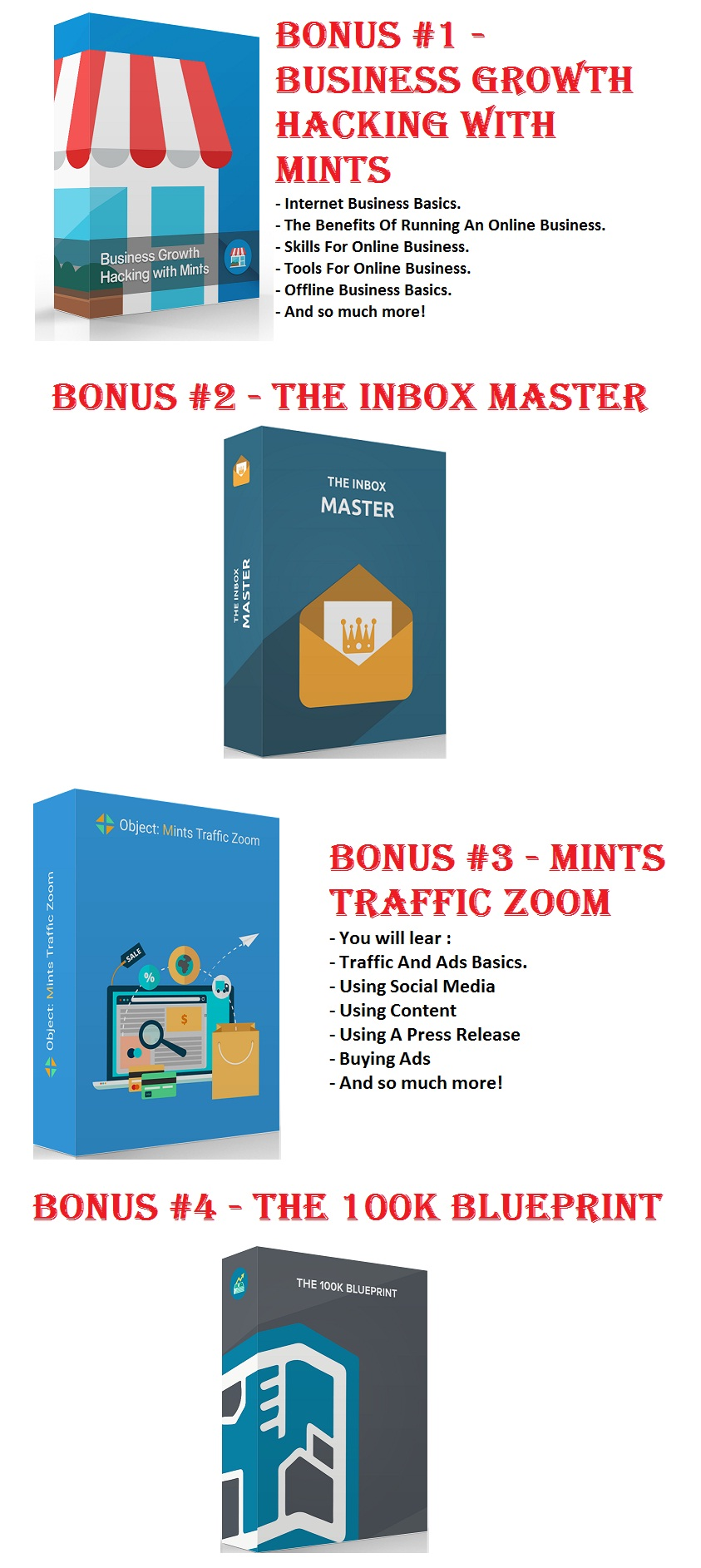 Mints App Bonuses