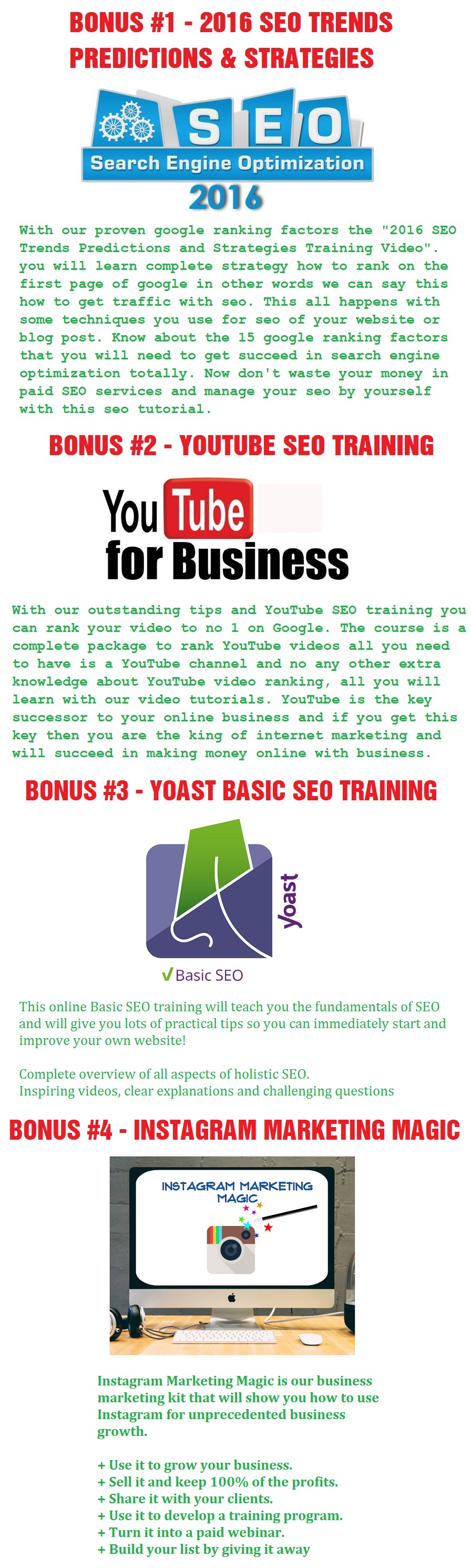 Nimbus SEO Artificially Intelligent Tool Bonus