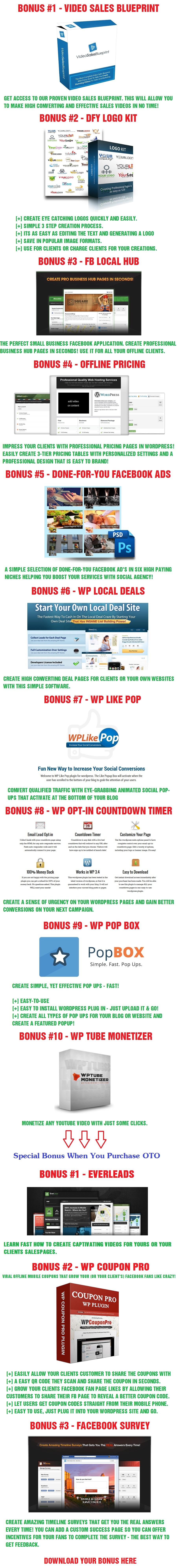 Social Agency Bonus
