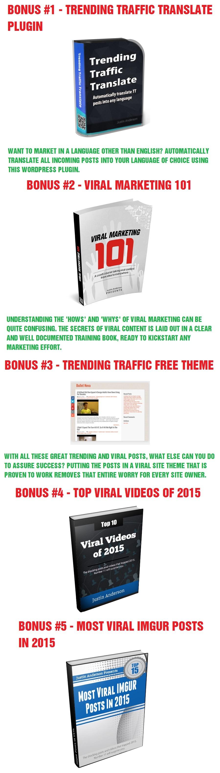 Trending Traffic Bonus