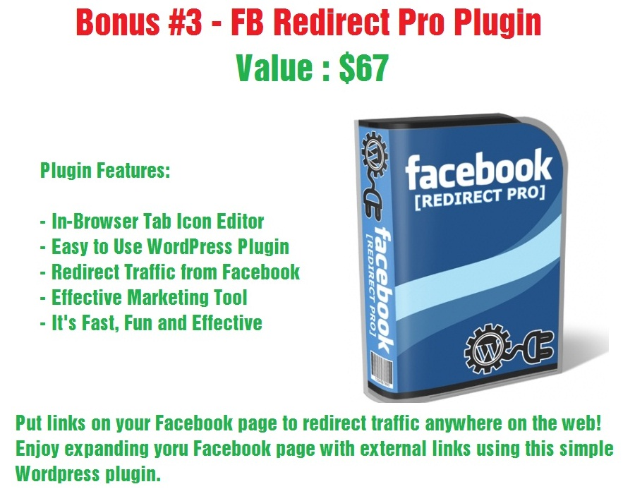 FB Redirect Pro Plugin