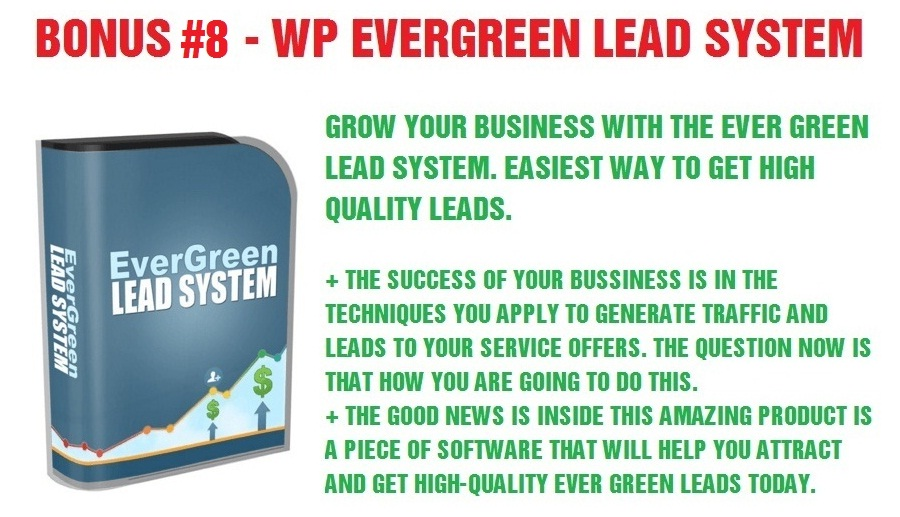 WP Evergreen Lead System