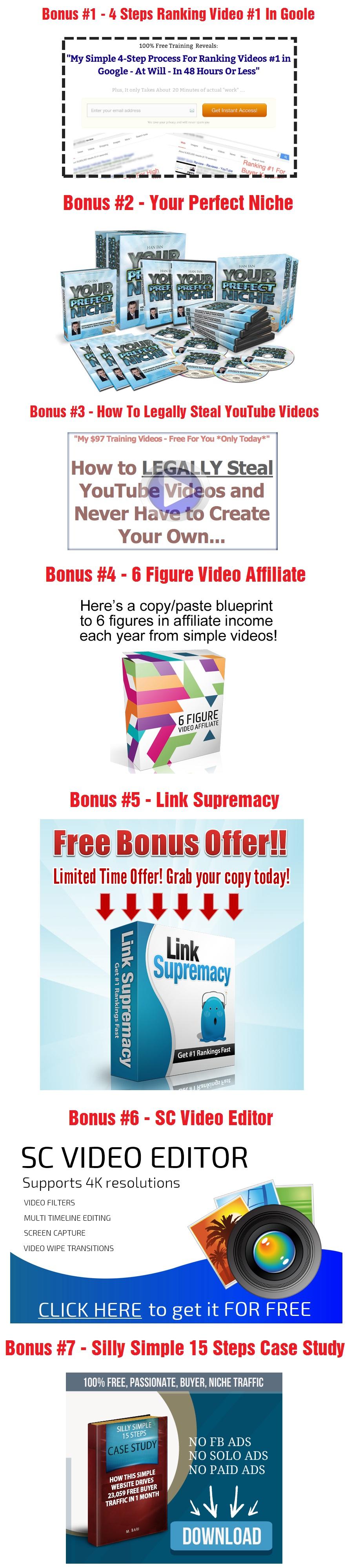 Affiliate Trax Bonuses