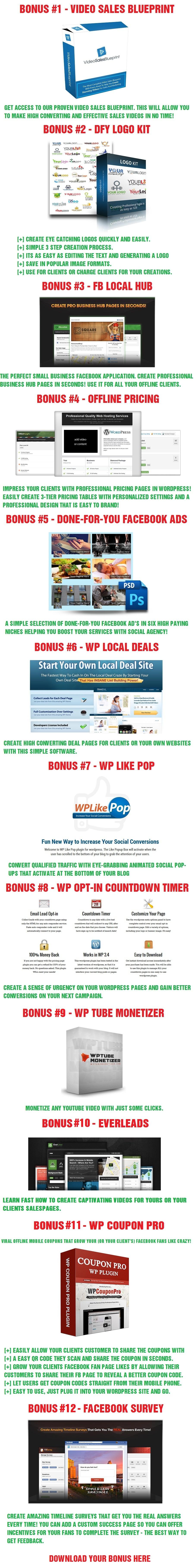 Audience Social Bonuses