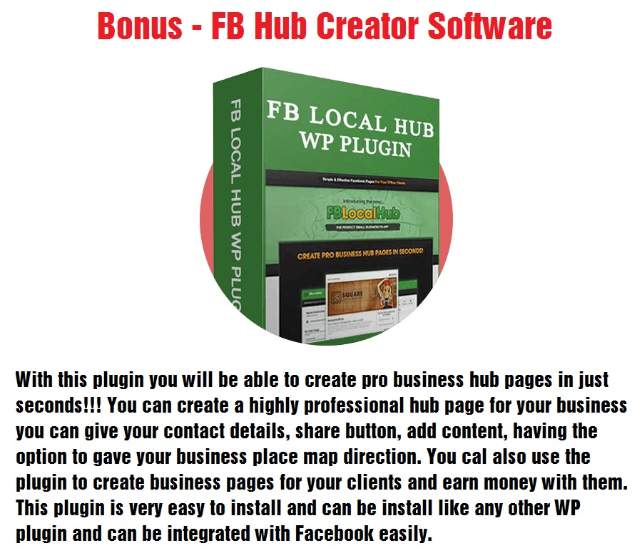 FB Hub Creator Software