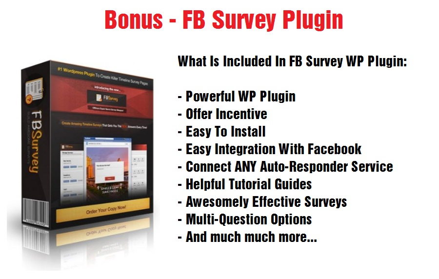 FB Survey Plugin