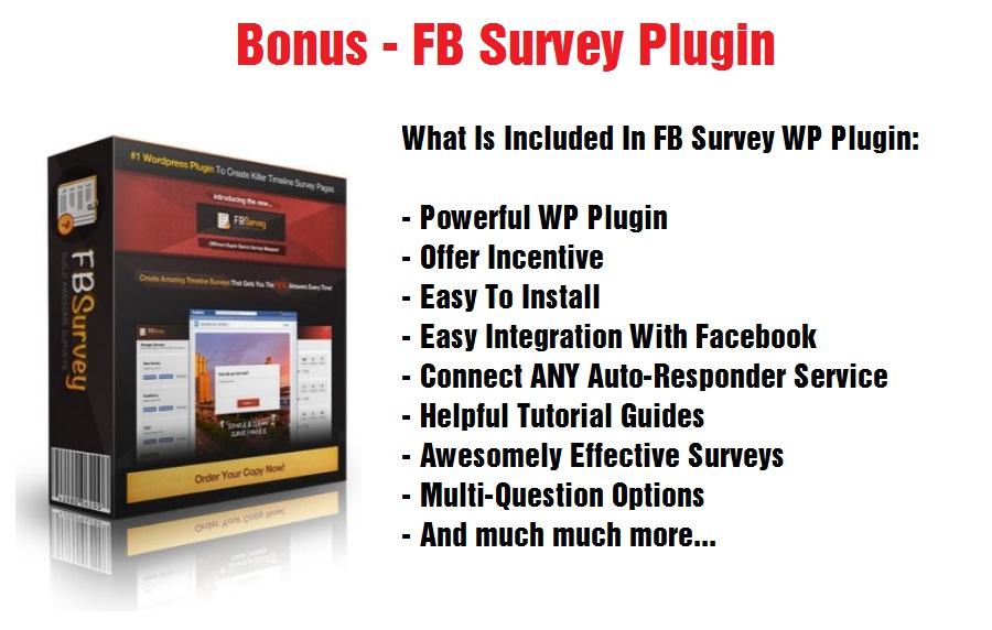 FB Survey Plugin