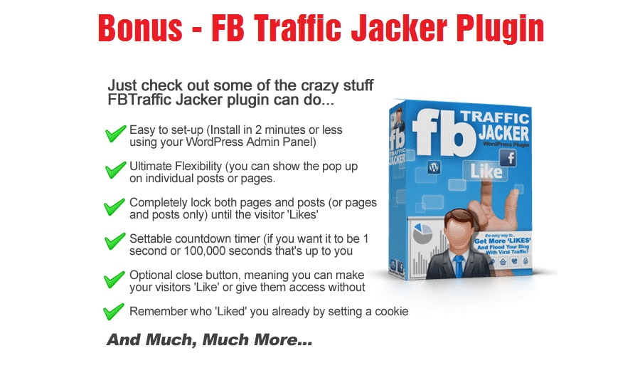FB Traffic Jacker Plugin