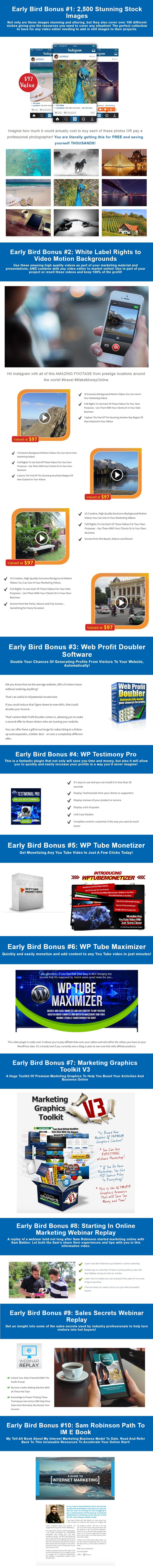 Vid Invision Enterprise Bonus