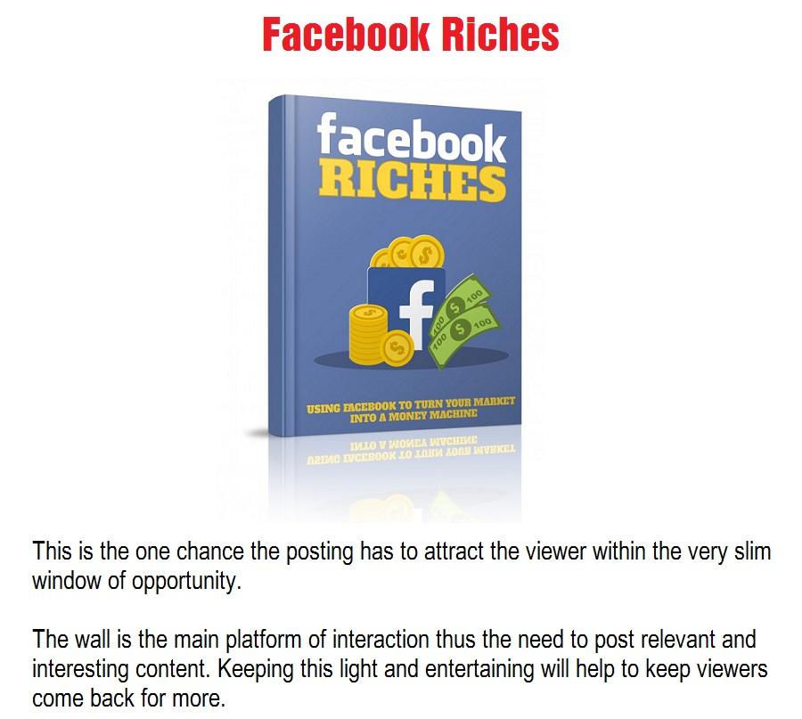 FaceBook-Riches