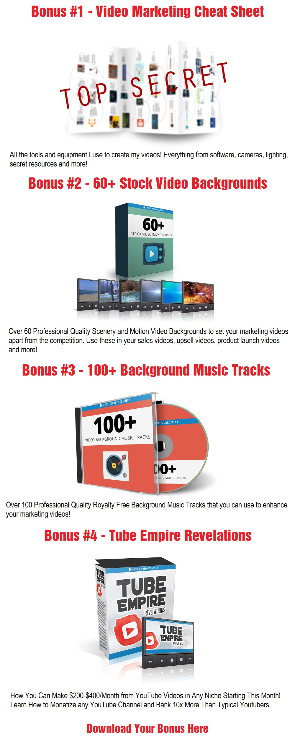 ToonVidio Bonus