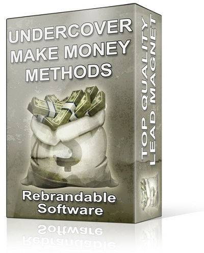 Undercover Make Money Methods Review
