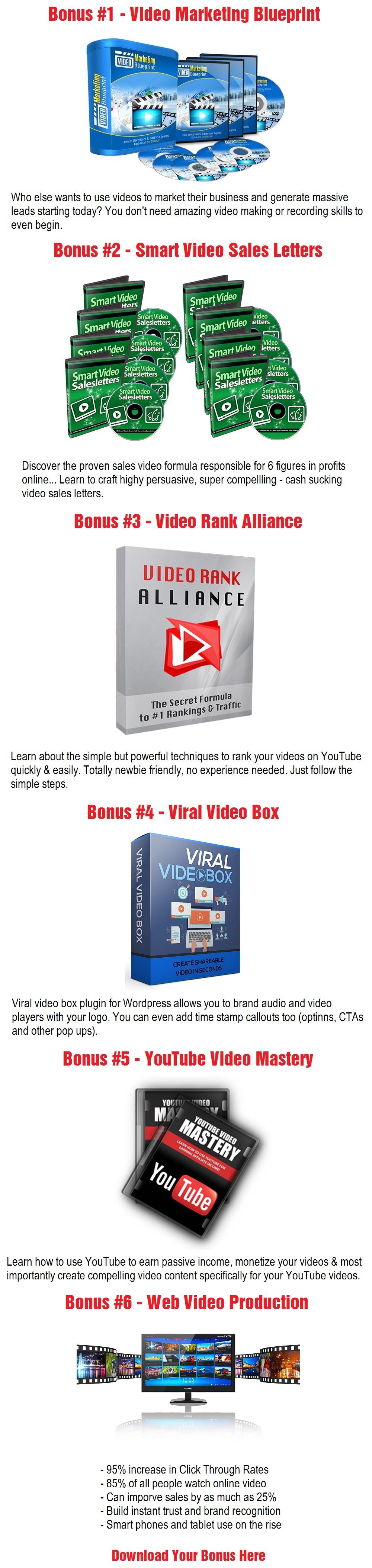 Viddyoze 3.0 Bonus