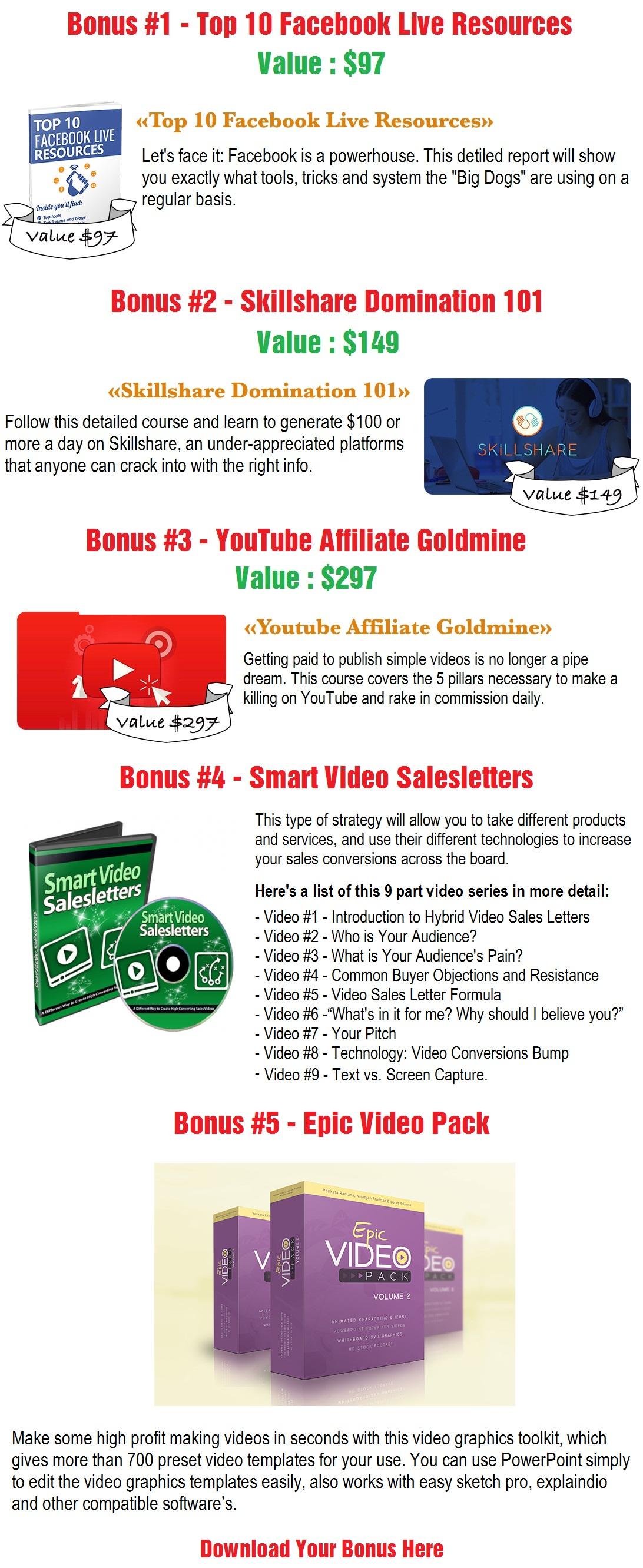 Video Ads Genius Bonus